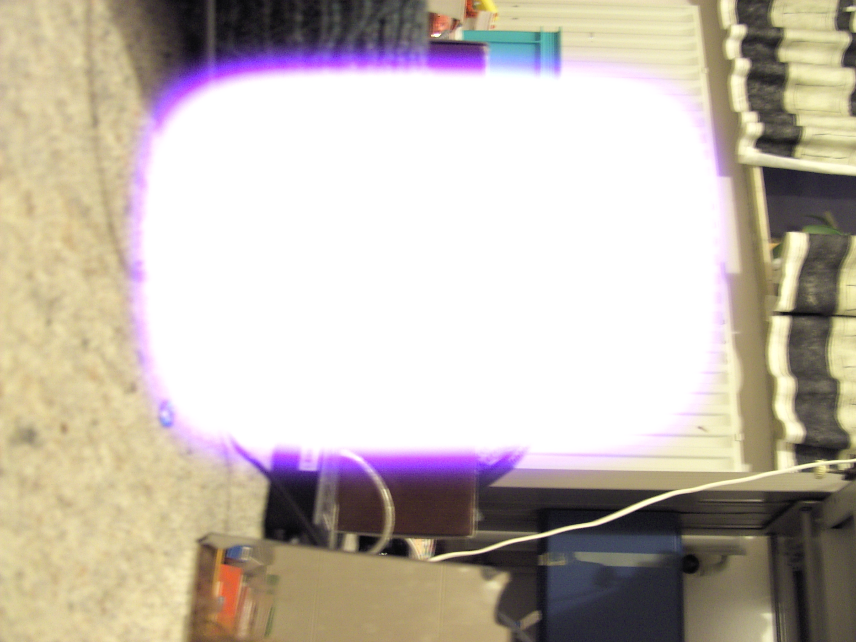 Digicam Trouble: Weird Purple Light On Pictures